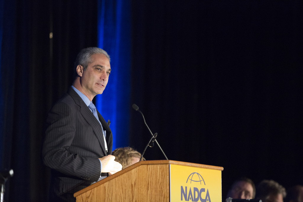 <strong>Michael Vinick at the 2016 NADCA Annual Meeting</strong>