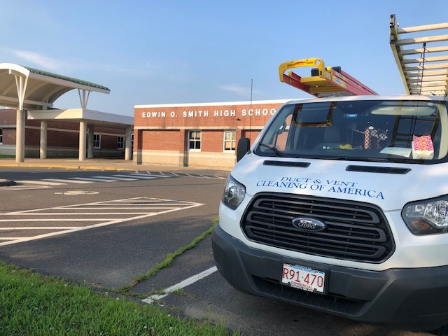 Edwin O. Smith High School - Duct Cleaning - Storrs CT image1.jpg